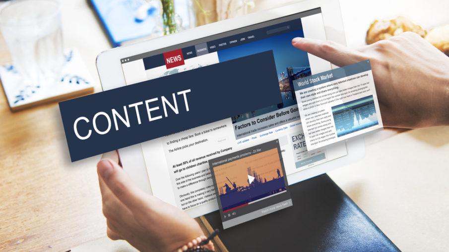 contenu web